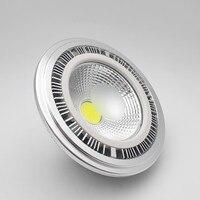 Оптовая продажа-высокой мощности с регулируемой яркостью GU10 15 W COB AR111 светодиодный Spotlight 15 W ES111 светодиодный утопленный свет G53 AR111 Светодиод...