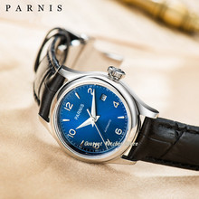 26mm Parnis Luxury Sapphire Crystal Japan Miyota Ladies Mechanical Watc