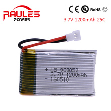 Quadcopter RC 3.7V 1200mAh 25C battery para Syma X5SC X5SW X5W X5 Drone Helicopter Mini Car  Battery Lipo 903052