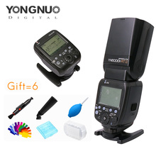 Yongnuo YN600EXRT II Speedlite + YN-E3-RT Speedlite Transmitter Kit Hoher geschwindigkeit Sync 1/8000 s 2,4G wireless für canon kamera