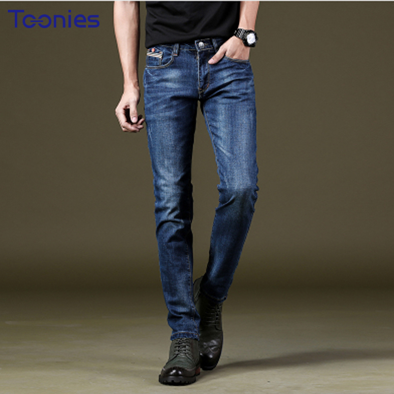 2017 Autumn New Fashion Pencil Mens Skinny Jeans Trousers Stretch Jean Homme Mid Waist Denim Pants Men Casual Jeans Hommes 2017 autumn new fashion pencil mens skinny jeans trousers stretch jean homme mid waist denim pants men casual jeans hommes