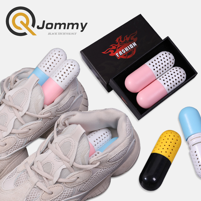 2019 Body Perfume Moisture Absorber Shoes Deodorant Capsule Shaped Desiccant Drawer Shoes Room Carbon Deodorizer Dehumidify Tool