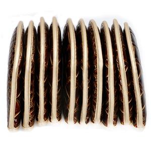 Image 4 - Kluby golfowe żelaza headcover skóra krokodyla PU headcover iorns chronić headcover 10 sztuk/partia darmowa wysyłka