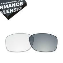 Lentes de Reposição para óculos Oakley ToughAsNails Jupiter Squared Óculos  De Sol Fotocromáticas Claro Cinza (Lente Única) dee7ff93fb