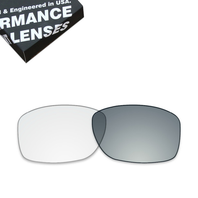 94fa0d0310e ToughAsNails Replacement Lenses for Oakley Jupiter Squared Sunglasses  Photochromic Clear Grey (Lens Only)