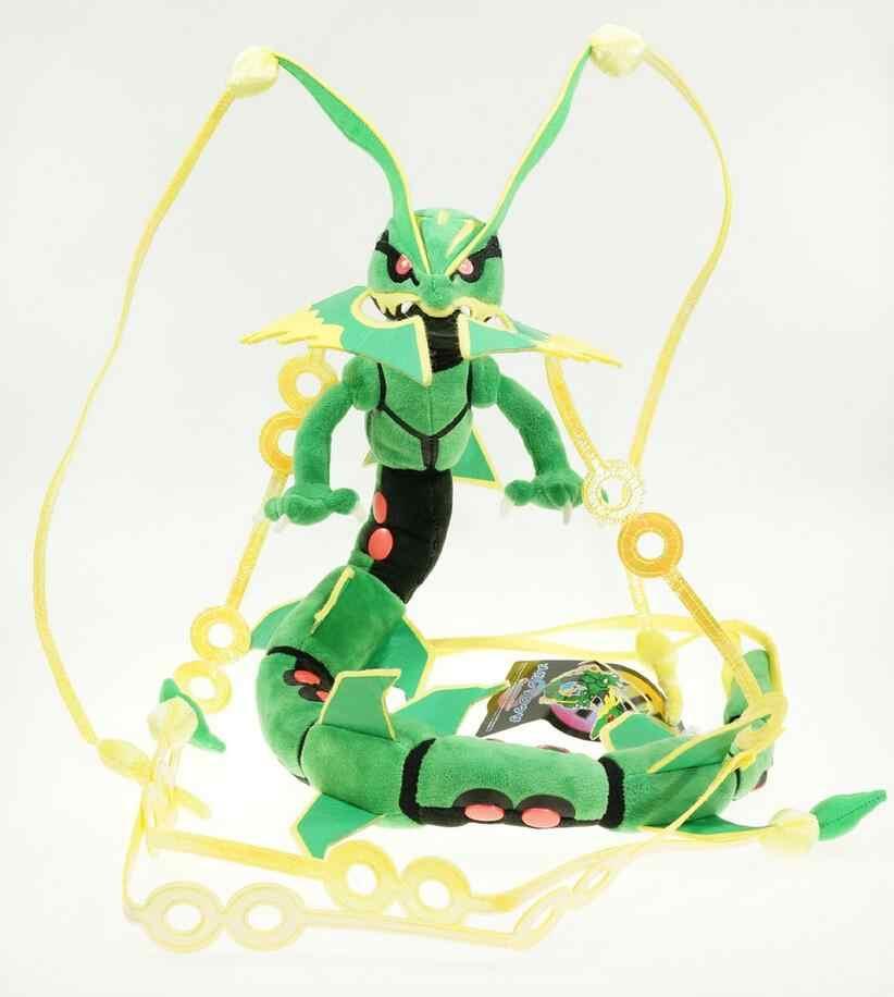 Super Mega Rayquaza Dragão Brinquedos De Pelúcia 88 cm