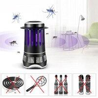 Elektrische Leuchtturm Form UV Moskito-mörder Insekt Steuerabweisende Lampe Lichtfalle Pest Bug Ablehnen Mole Repeller Home Safe