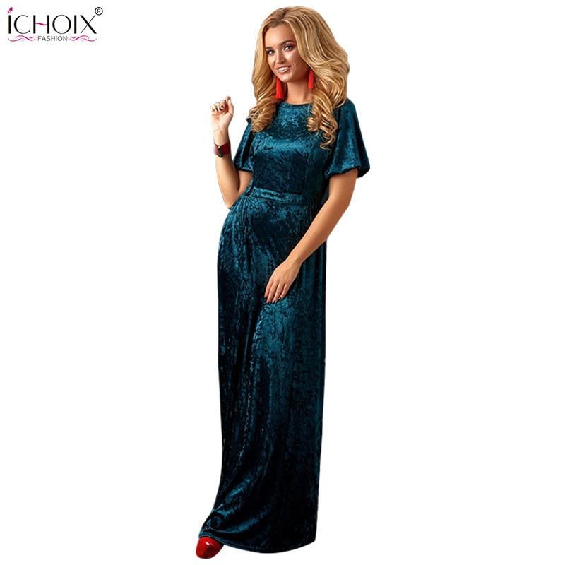 2019 Autumn Velvet Long Maxi Dress Women Winter Floor Length Bodycon Dresses Vintage Femme Elegant Evening Party Dress Vestidos