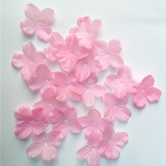 300pcs Cherry Hydrangea Blossom Rose Flowers Petals Wedding Petals