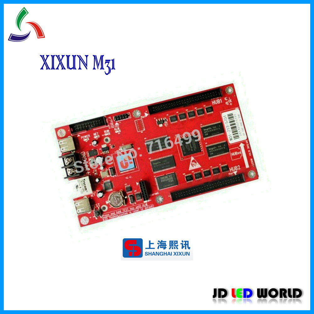 M31 xixun Asynchronous ethernet and USB port full color led screen controller card