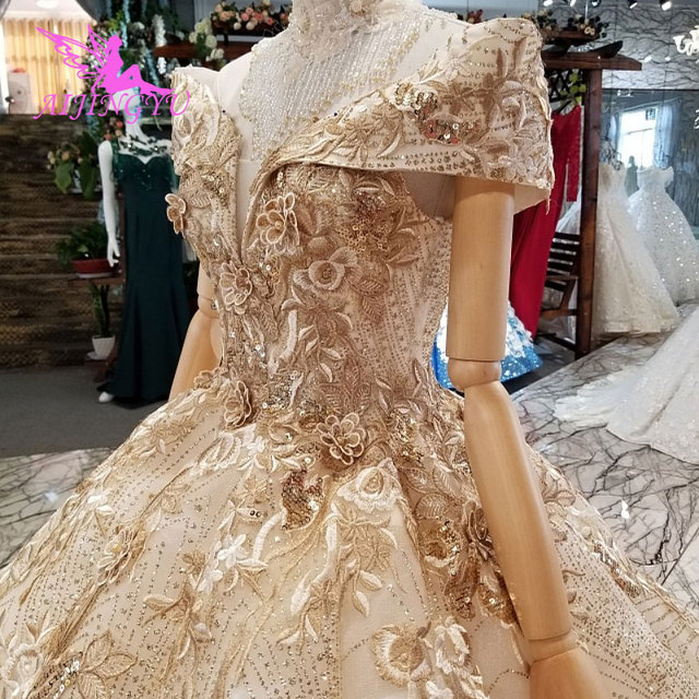 AIJINGYU Cheap Wedding Dresses Made In China Affordable Gowns Plus Size Made In Turkey Lace Bride Gown engagement Robe Size Plus