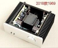 NB1969 hifi Pure Class A amplifier HOOD 1969 MJ15025G 10W +10w schematic design Stereo Audio Power Amplifier good voice