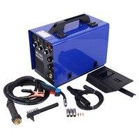 Mig Welder 250A Flux Cored Wire Iron Welding Machine MIG MMA + E Hand electrodes IGBT Inverter Welding Machine MIG 250A