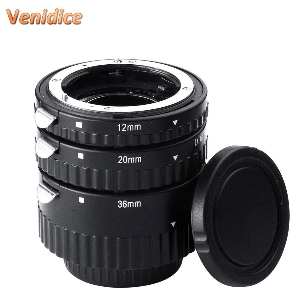 Prix pour Meike Auto Focus Tube Extension Macro Set Anneau N-AF1-B pour Nikon D7100 D7000 D5100 D5300 D3100 D800 D600 D300s D300 D90 D80