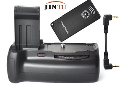 JINTUVertical Shutter Battery Grip with IR Remote Control for Canon EOS 100D Digital DSLR Camera