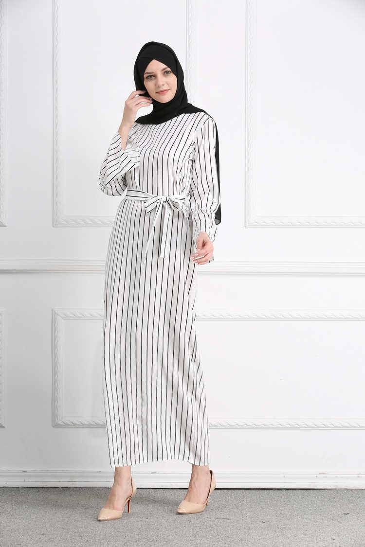 7644177e8dde1e5 ... 2018 плюс Размеры мусульманское платье, мода халат мусульмане Турецкий  Арабский Дубай белый Абаи Fiesta Исламская ...