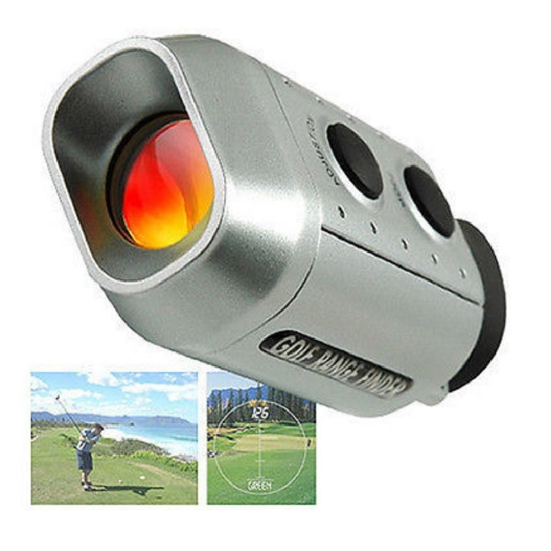 7x Golf Scope Golf Range Finder Golf Digital Range Finder Golf Training Tools Optic Telescope Testing Distance 1000yard Measure