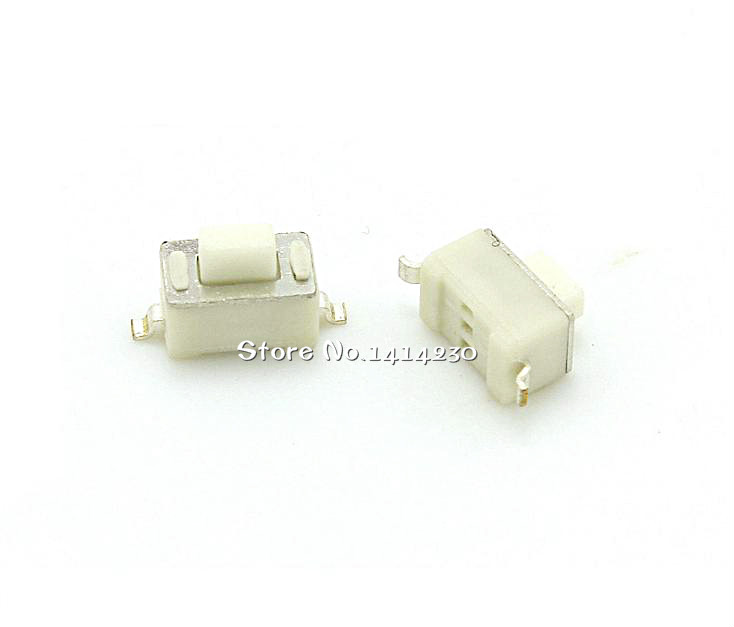 10Pcs SMD Tact Switch 3x6x5 Mm Connectors Push Button 3*6*5mm Tactile Switches