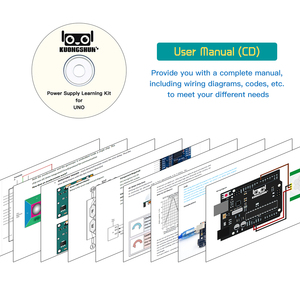 Image 4 - KUONGSHUN UNO R3 Project Complete Starter Kit with Tutorial for Arduino diy kit With tutorial CD