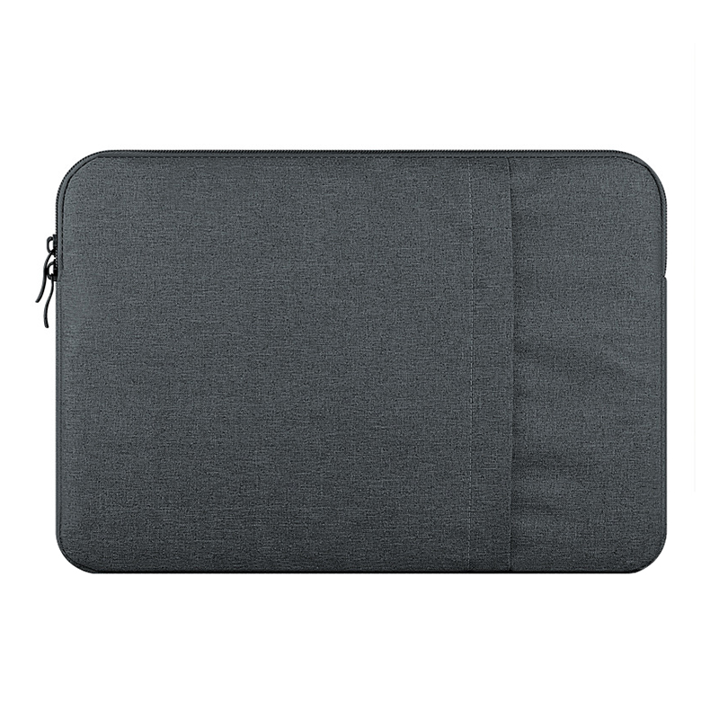 Nylon Laptop Bag Sleeve Pouch for Macbook Air Pro 15 Retina 15 Unisex Liner Sleeve Notebook Case for Macbook Air 15(Dark Gray)