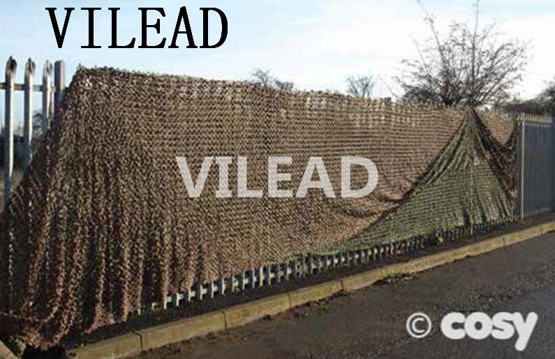 VILEAD 4M x 5M (13' x 16.5') Desert Digital Camo Netting Military Army Camouflage Net Shelter for Hunting Camping Car Cover Tent vilead 7m desert camouflage net camo net for beach shade canopy tarp camping canopy tent party decoration bar decoration