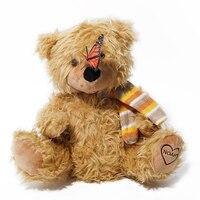 Romantic bear Peek a Boo Teddy Bear Play Hide And Seek Lovely Cartoon Stuffed Kids Birthday Gift 30cm Cute Music Bear Plush Toy