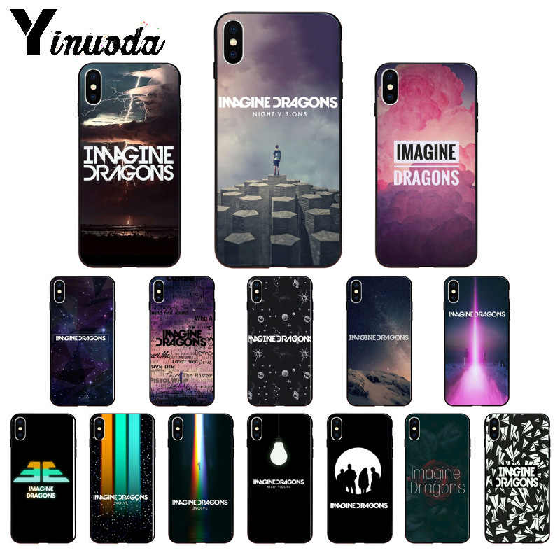 Yinuoda imagine dragons TPU Soft Silicone Phone Case Cover for Apple iPhone 8 7 6 6S Plus X XS MAX 5 5S SE XR Cellphones
