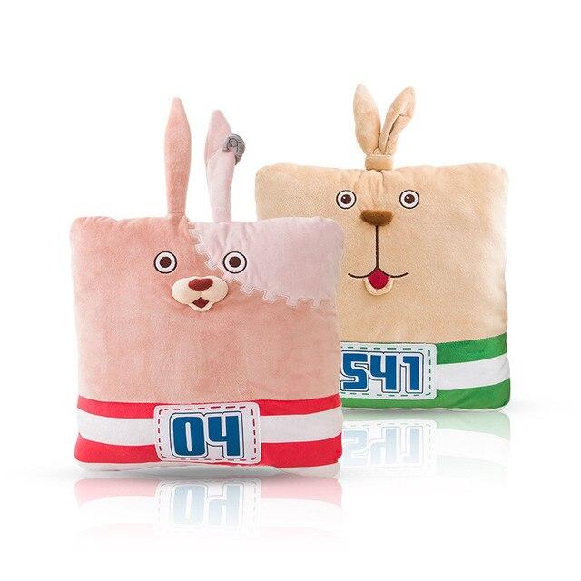 Оригинальные Подлинная Новый горячий продажа tusm плюшевые игрушки куклы Usavich Кролик побег Тюрьма кролик розовый и зеленый Подушки