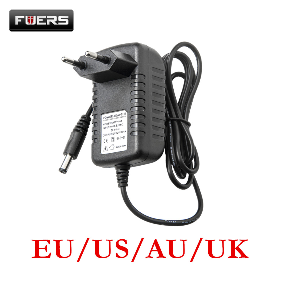 Fuers 10A Alarm System Power Adapter DC 9-12V 1.2A Power Supply For  Wireless GSM Alarm System