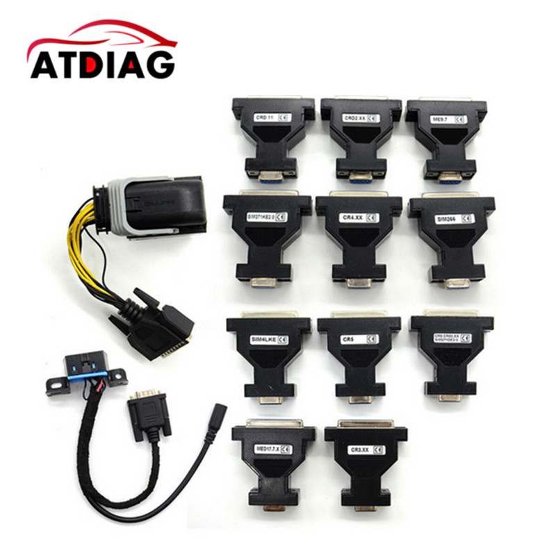 New Arrival ECU Test Adaptor for Benz ECU adaptor Tool Work with MB KEY OBD2/VVDI Tool /NEC57/KTAG/Kess ECU Cable for Benz new version v2 13 ktag k tag firmware v6 070 ecu programming tool with unlimited token scanner for car diagnosis