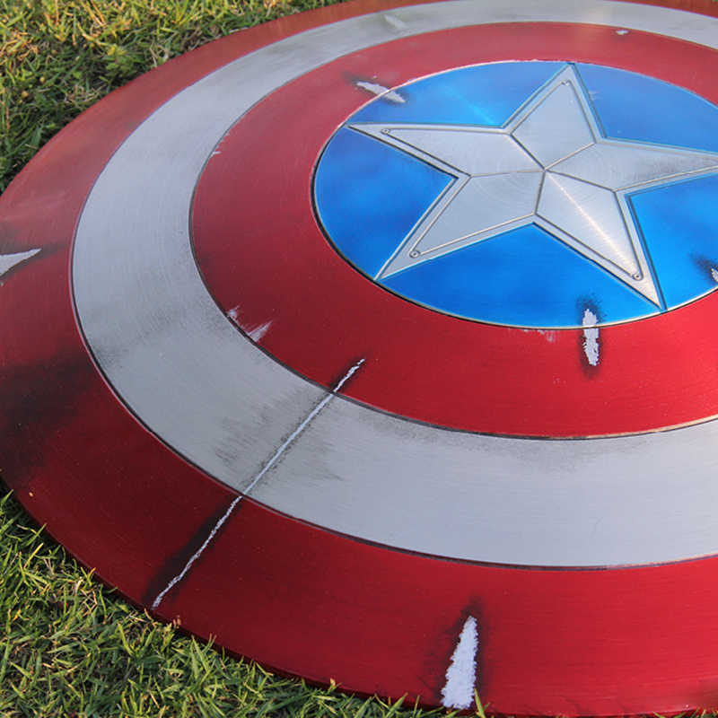 Cool 11 Avengers Captain America Shield Perfect And War Damage Ver