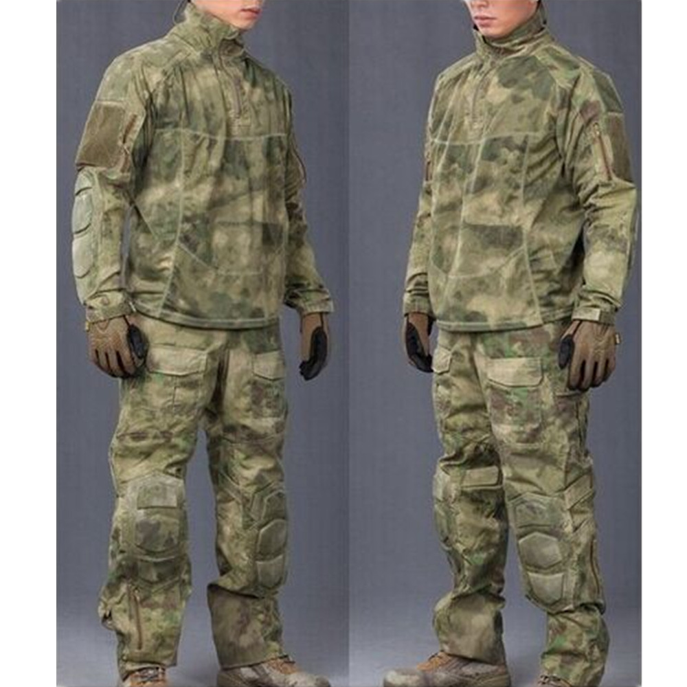 ATACS FG military uniform Camouflage suit sets Army Military uniform Combat Suit &Pants ...