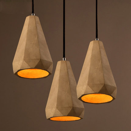 Loft Contracted Pendant Lamp Designer Creative Cement Chandelier Restaurant Corridor Suspension Luminaire Bar Art Deco Lighting купить