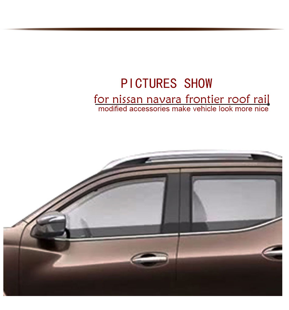 Roof Rails For Nissan Navara Frontier Accessories Rail Rack 1 Avanza Ford Ranger 2012 2016
