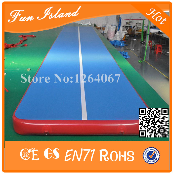Free Shipping 10x2m Inflatable Gymnastics Mats,Inflatable Air Track For Gym,Inflatable Ttumble Track On Sale