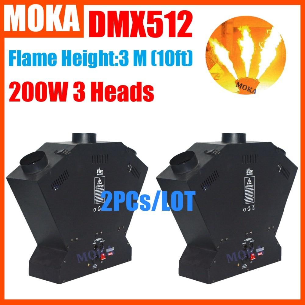 2pcs/lot Fire Machine Flame Machine 3m height Special Effect Fire Spray Machine DMX 512 Fire Thrower 2pcs lot fire machine flame machine 3m height special effect fire spray machine dmx 512 fire thrower