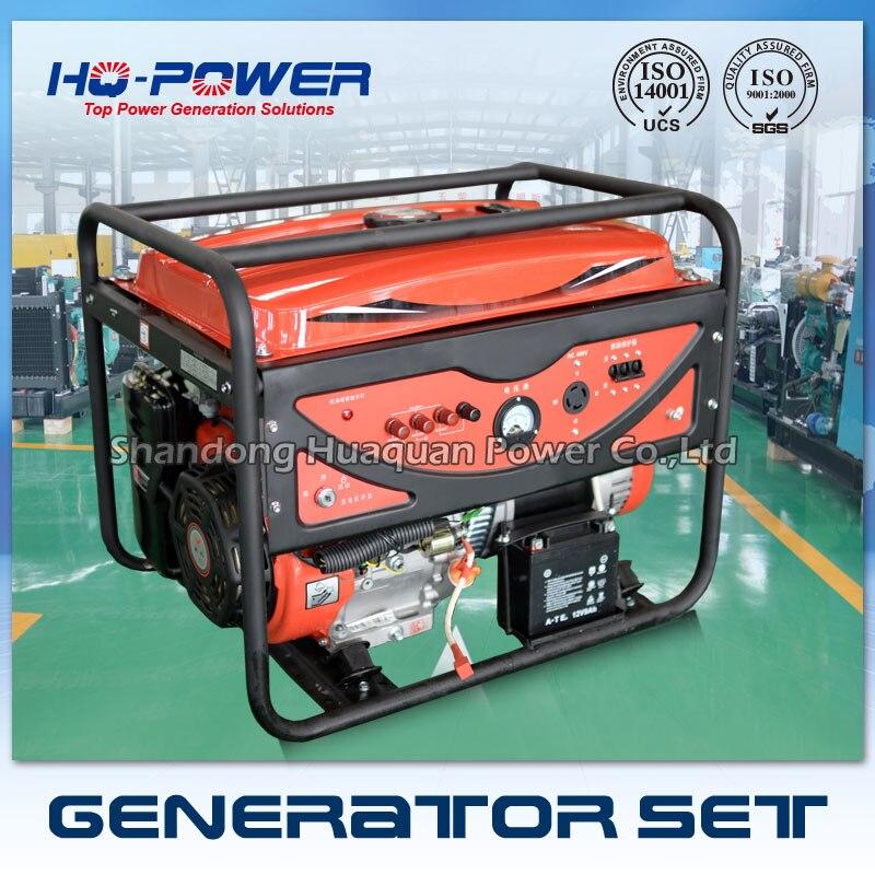 Бензиновый генератор Lutian 5 220