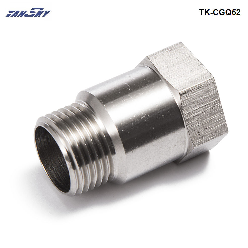 O2 Sensor Exhaust Pipe: Car Exhaust O2 Oxygen Sensor Test Pipe Extension Extender