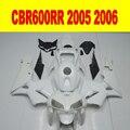CBR600RR CBR 600RR 2005 2006 Motorcycle Unpainted Full Fairing Kits Bodywork for HONDA CBR600RR 2005 2006 ABS Plastic