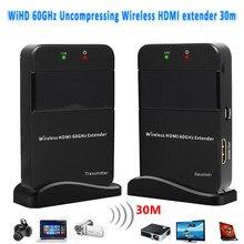 HD видео/аудио сигнала Трансмиссия системы HDMI 1,4 3D беспроводной HDMI Extender 30 м/98ft Full HD 1080p передатчик приемник