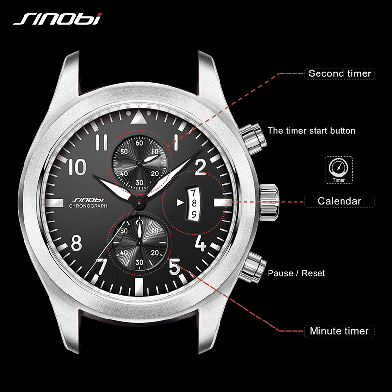 Military Chronograph Wrist Watches 3