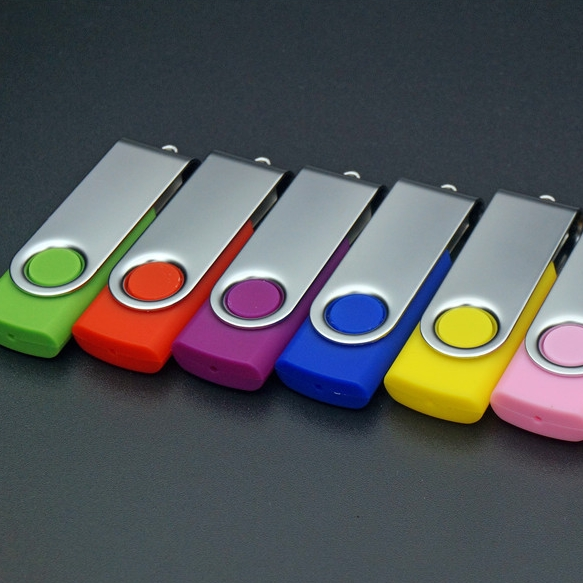 Real Capacity 64GB 8GB 16GB 32gb Colorful Swivel USB Flash Drive 1TB 2TB Memory Stick 2.0 Creative Custom Pen Drive USB 128GB