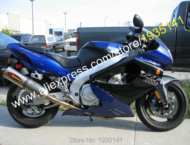 Горячие продаж,для YAMAHA YZF1000R Thunderace АБС частей и YZF YZF1000 1000р 1997-2007 Р 97-07 черный синий мотоцикл Кузов Обтекателя