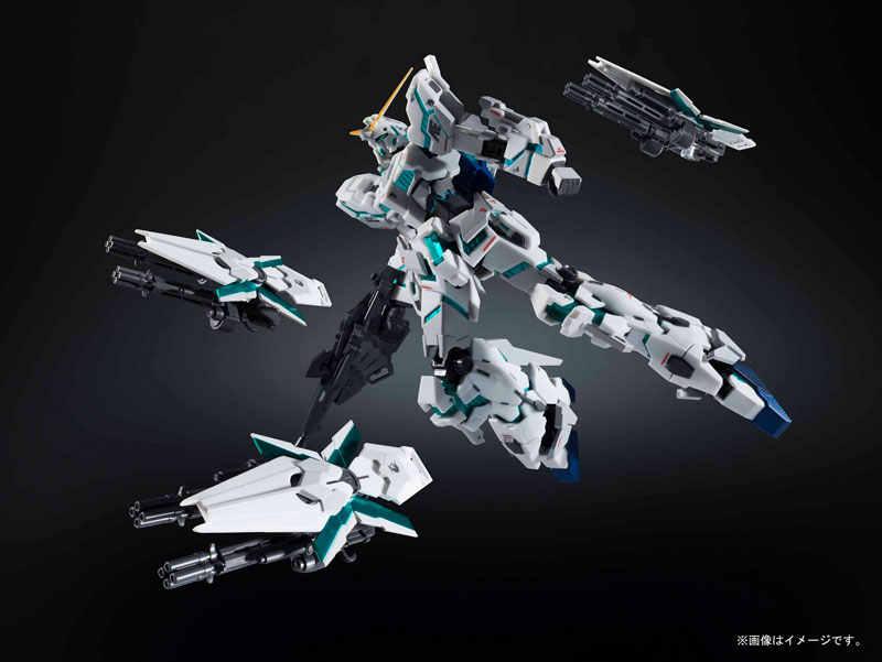 Оригинальный бандай робот-спирит № 235 мобильный костюм Gundam Unicorn единорог Gundam (пробуждается Тип) [натуральная маркировки вер.] Фигурку