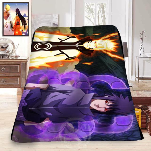 Naruto Soft Fleece Decoration Blanket
