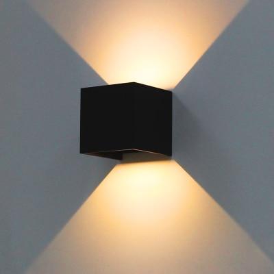 7 W Angle Réglable Moderne Lampe Extérieure Murale à Led Haut Et Bas