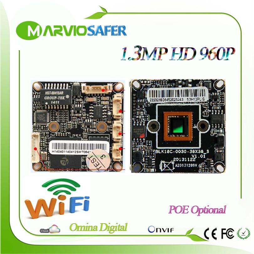 960P HD 1.3MP Ar0130 Low Illumination wifi wireless Wi Fi CCTV Network IP Camera Board Module with Audio interface, Onvif wrtnode low power mini openwrt dev board mini linux wi fi board mtk mt7620n mips24kec 512m 128m 802 11n with 23 gpio jtag etc