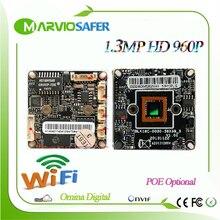 960P HD 1.3MP Ar0130 Low Illumination wifi wireless Wi Fi CCTV Network IP Camera Board Module with Audio interface, Onvif