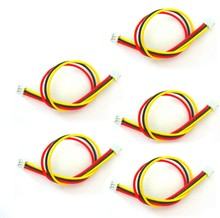 5 PCS 150mm/15cm JST-ZH 1,5mm 3 P 3 Pin AV Kabel Für FPV kamera Sender RC Drone(China)