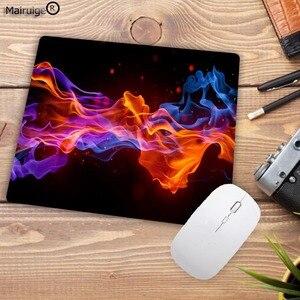 Image 5 - Mairuige alfombrilla de caucho para ratón diseño de fuego moderno, alfombrilla rectangular para ordenador portátil, ratón para jugador almohadilla para ratón de velocidad 220x180x2MM